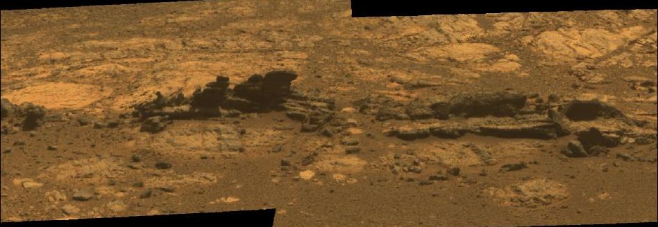Mars Sphinx: Rover Opportunity Working At 'Matijevic Hill ...