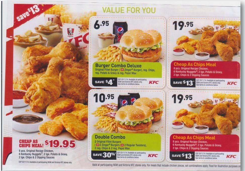 photo about Qdoba Printable Coupons called Kfc discount codes december 2018 printable - Qdoba discount coupons nov 2018