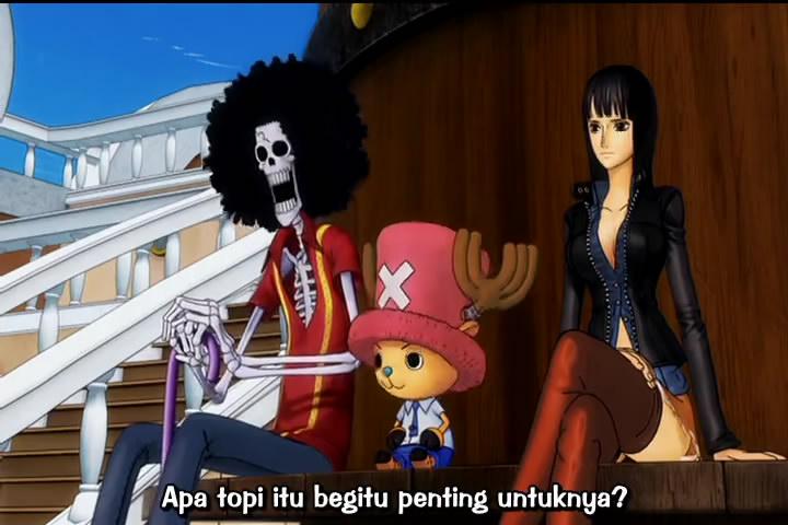 joos manga: One Piece Movie 11 [3D] Sub Indo