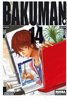 Bakuman 14,Tsugumi Ōba, Takeshi Obata,Norma Editorial  tienda de comics en México distrito federal, venta de comics en México df