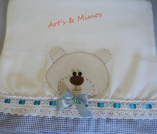 fraldas + toalha fralda para menino em patch aplique