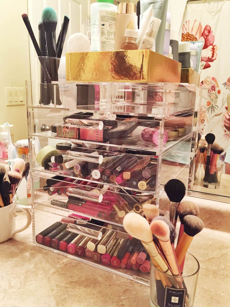Glamboxes, organization, makeup organizer, makeup organization, Glambox, fashion organizer, jewelry organizer, makeup organizers, beauty, makeup, the best makeup organizer, makeup storage, how to store your makeup, GLAMluxe Makeup Box