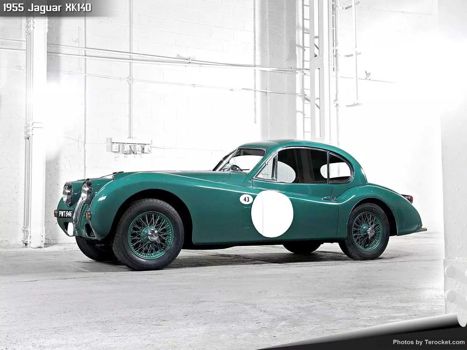 Hình ảnh xe ô tô Jaguar XK140 1955 & nội ngoại thất