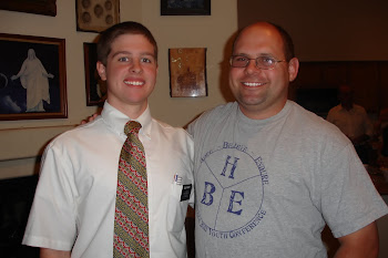 Elder Kinney and Bro Collins, Branch Counselor