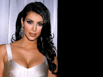 Kim Kardashian HD lingerie Wallpaper