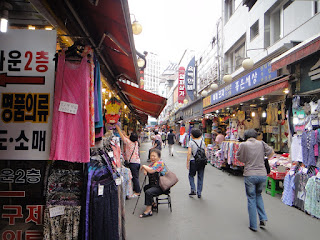 Namdaemun Market Clothes Shop Seoul