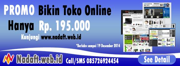 Promo Toko Online Murah Hanya 195 ribu by Nadaft.web.id