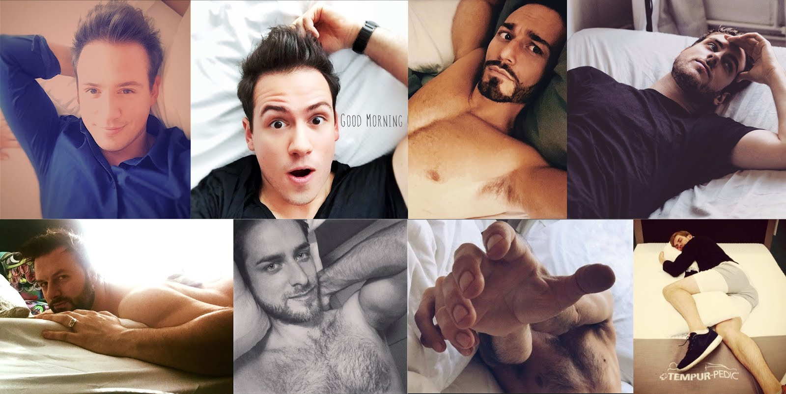 The 2017 Calendar will be BARIHUNKS IN BED. Big cash prizes for best photos!