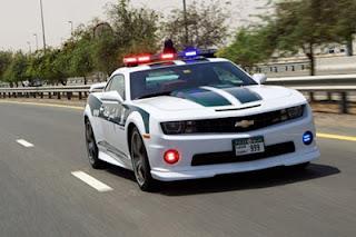 Hanya di Dubai : Polis menggunakan Lamborghini Aventador