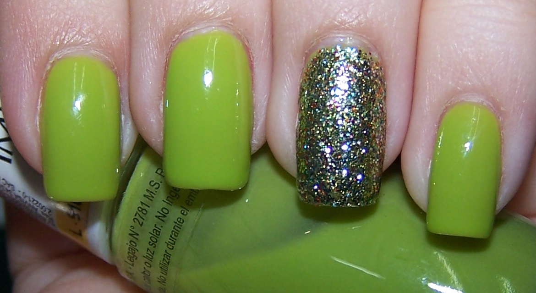 Un Blog Subnormal de Esmalte: Impala - Pistache + OPI -Glow Up Already!