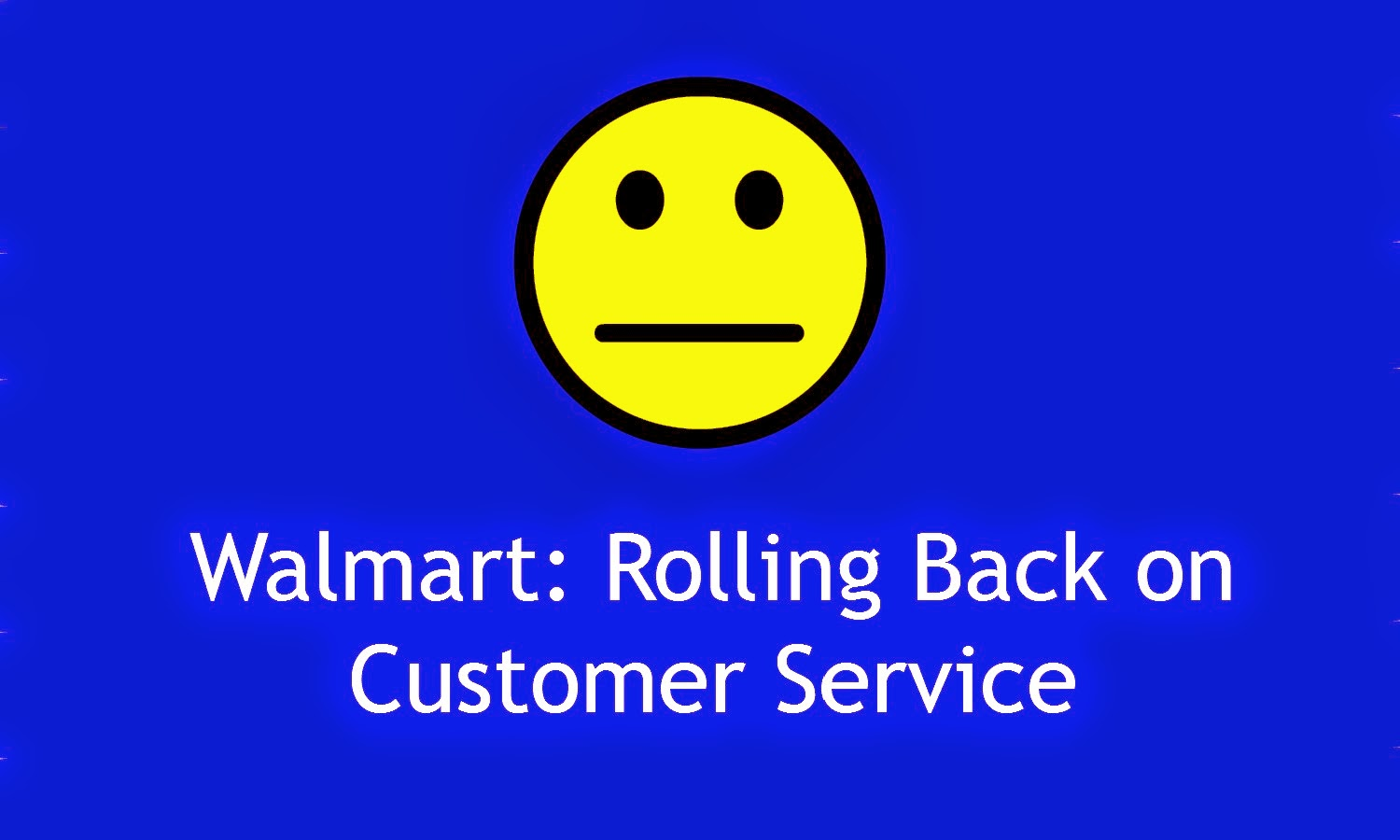 walmart customer service essay 4 reasons walmart is the most-hated retailer in america  he says the customer service problems at the retailer often start with a shopper's inability to get anyone to help them find what they .