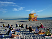 Picture: 3rd St. Beach Yoga (free beach yoga on rd st south beach)