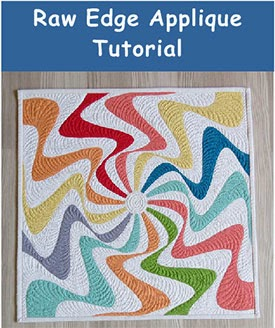 fusible raw edge applique tutorial