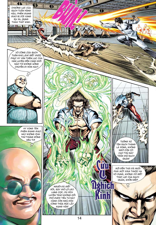 Tân Tác Long Hổ Môn chap 343 - Trang 14