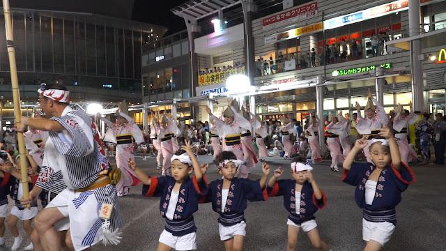 紅連 小金井阿波踊り 2015 流し踊りじっくり見れます!