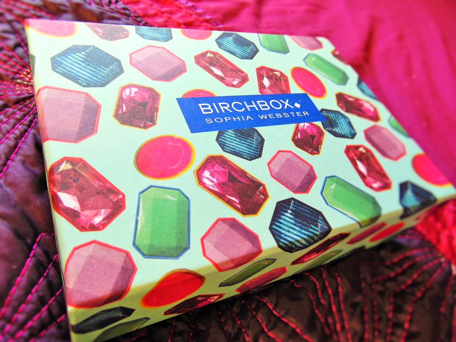 Birchbox opening and review sophia webster edition jewels
