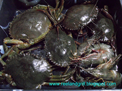 how to cook half blue swimmer crab