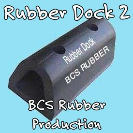Rubber Dock Bumper ""