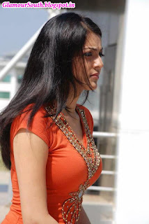 In kajal agarwal stylish side view poses in modern dress and saree