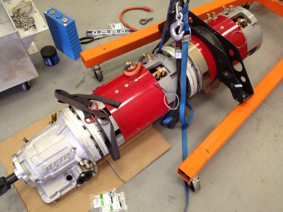 Тяговый электродвигатель для электромобиля своими руками 1