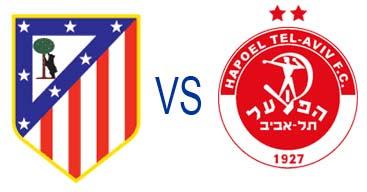 Atletico Madrid vs Hapoel Tel-Aviv 23 November 2012