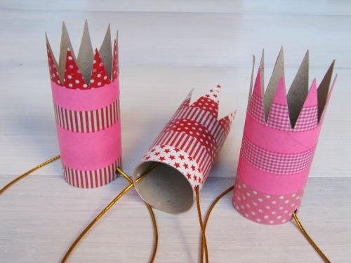 Mini coronas para pequeñas princesas