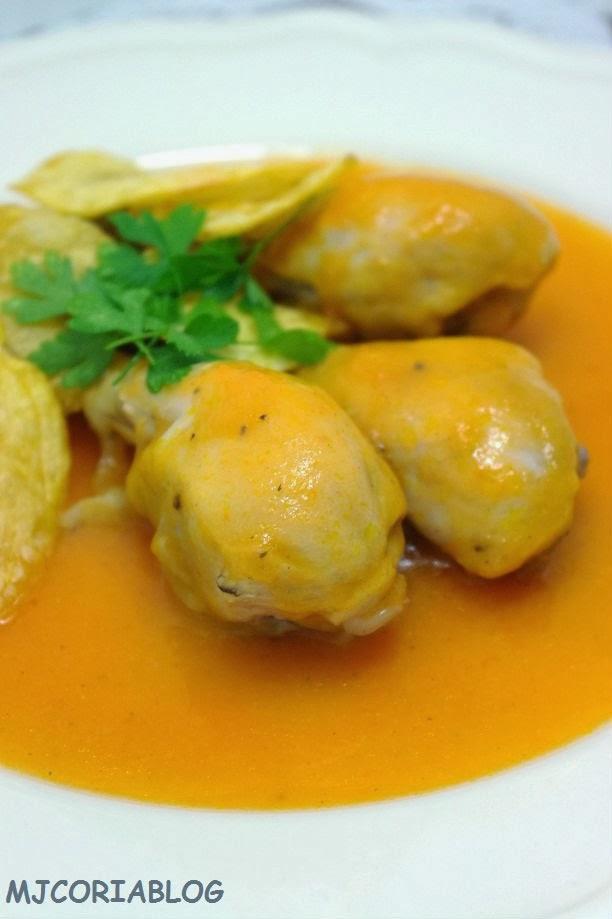 Mjcoriablog muslos de pollo en salsa for Muslos pollo en salsa