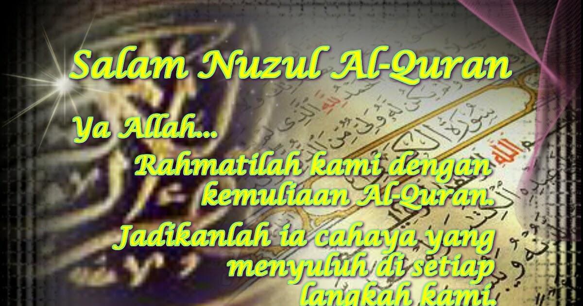Cetusan Pemikiran Rasa Salam Nuzul Al Quran