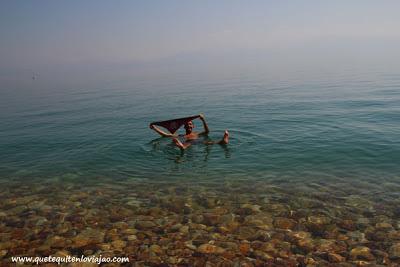 Mar muerto - Viaje a Israel