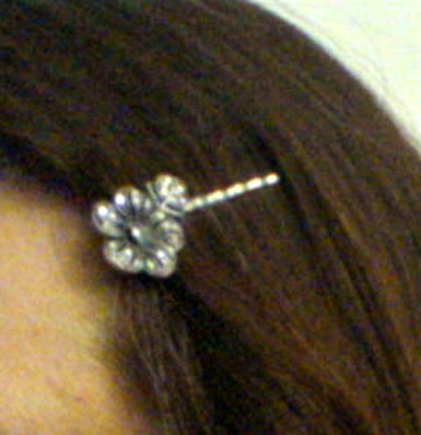 Photo of Hair Pin in Ana's Hair Circa 2007 - Photo by Anthony Tirolese ©