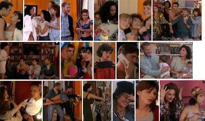 Escenas de la serie de Antena 3 Canguros 1994