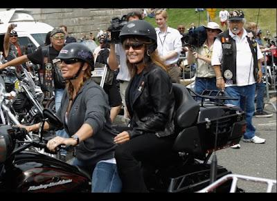 Sarah Palin Rolling Thunder Motorcycle