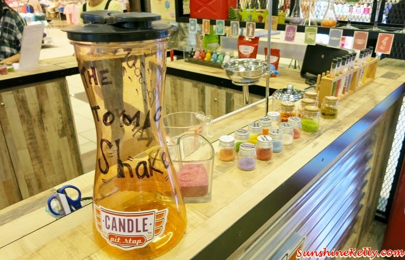 Candle Pit Stop, Ikano Power Centre, Eco Friendly Candle, DIY candle