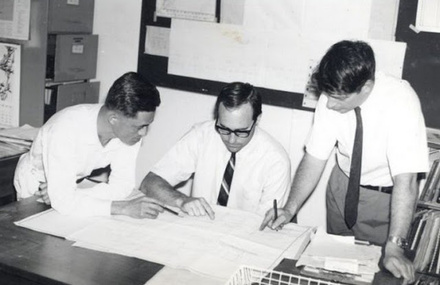 With Newton, Tony Fleming, Joseph Kong