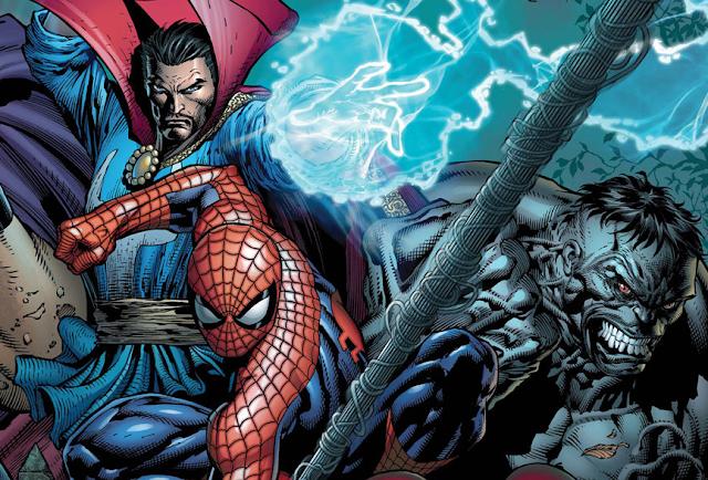 spider-man se unirá al doctor extraño