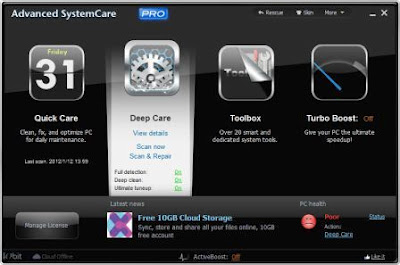 Download Advanced SystemCare Pro 5.2 Full Version