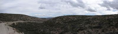 Bajada de Bosque Alto a Valmadrid