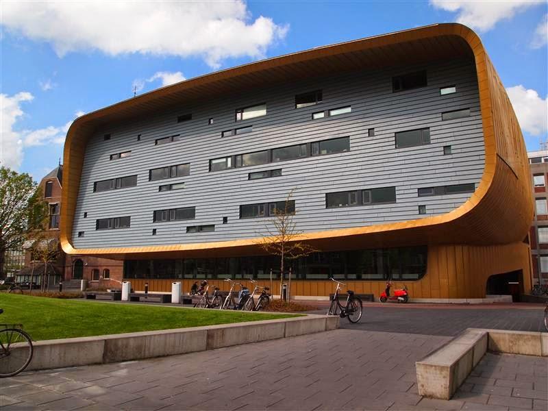 Arquitectura moderna de Groningen