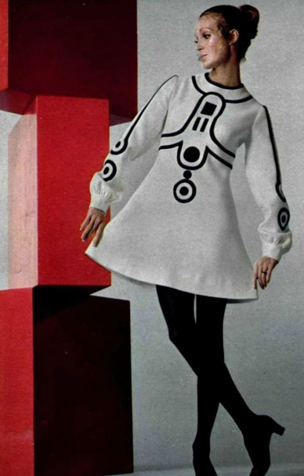 Couture allure vintage fashion 1960s mod era master for Couture fashion designers