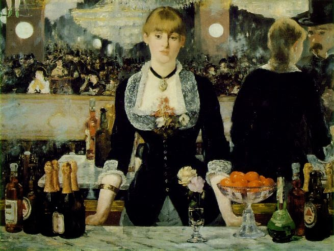 Un bar de Folies Bergère.