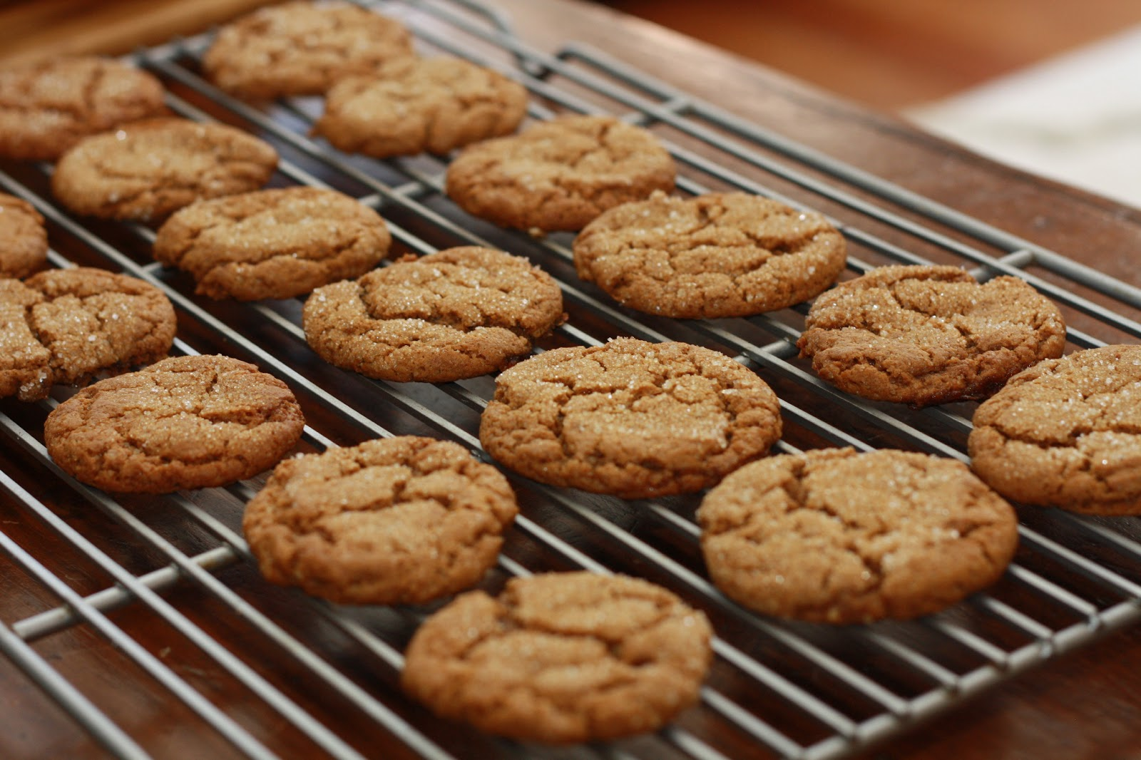 For the recipe : Chloe's Vegan Ginger Molasses Cookies