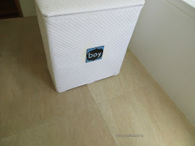 DIY Cesto Ropa Sucia/ Laundry Basket