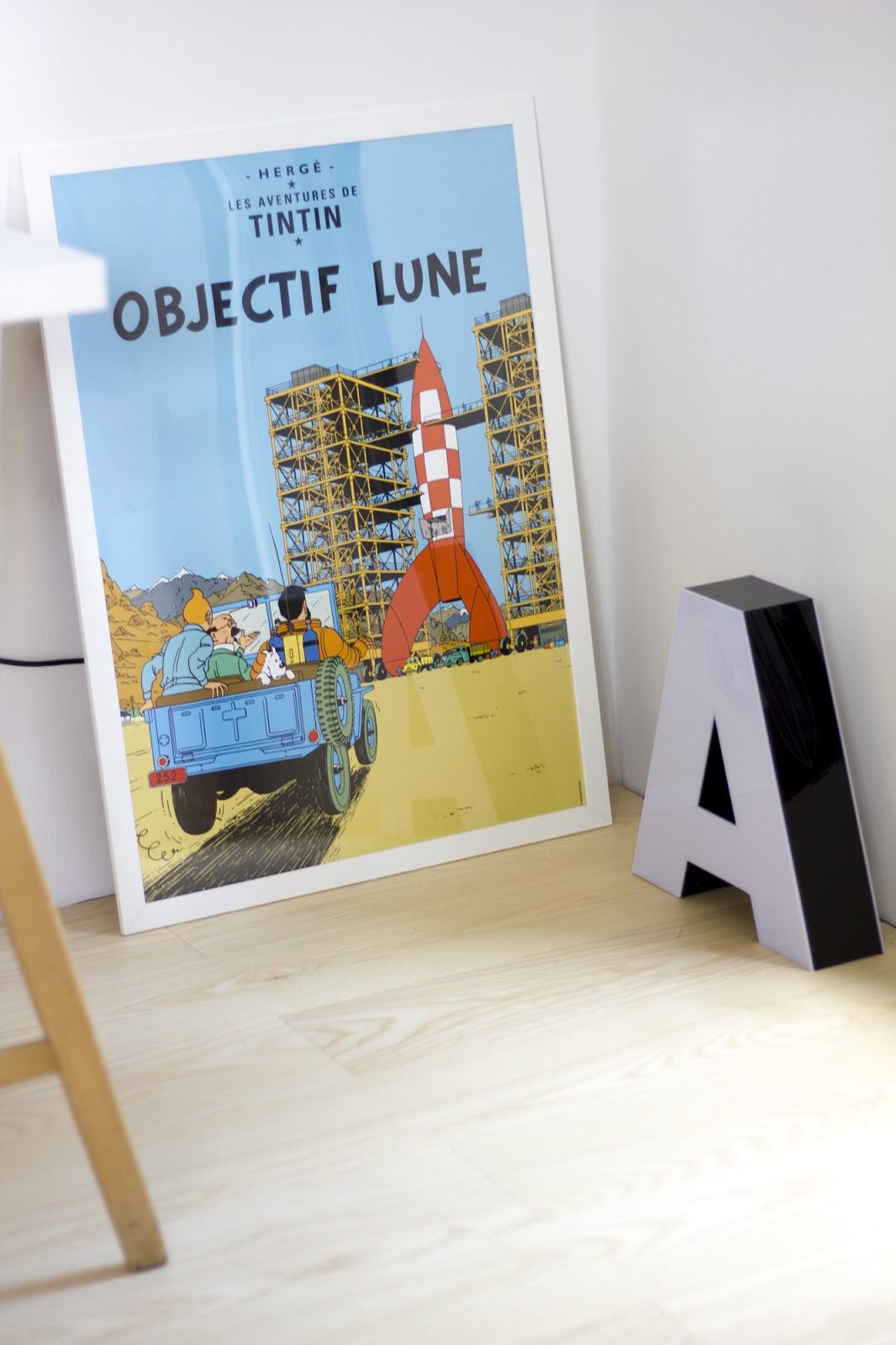 Lastenhuoneen Tintti juliste