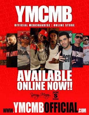 ropa oficial de YMCMB