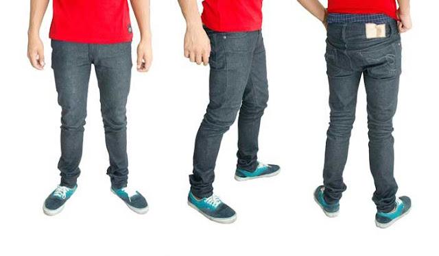 tarik jeans black slim