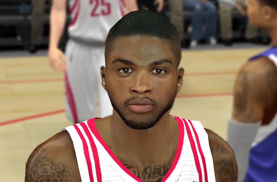 NBA 2K14 Realistic Troy Daniels Cyberface Patch