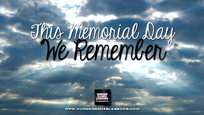 We Remember... from www.hungergameslessons.com