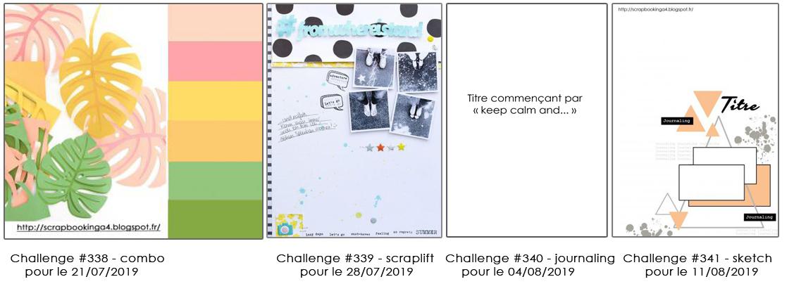 images challenges en cours