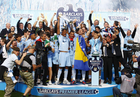 Manchester City Juara EPL Selepas 44 Tahun