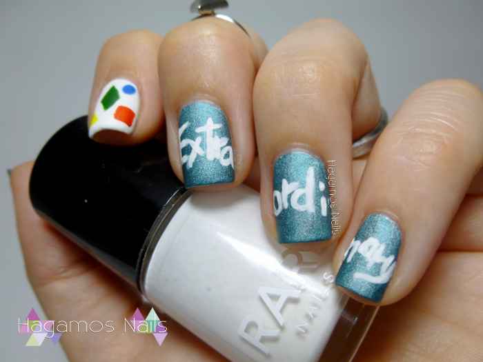 Nail Art Extraordinary Clean Bandit. Reto #DIASDEVERANO Hagamos Nails